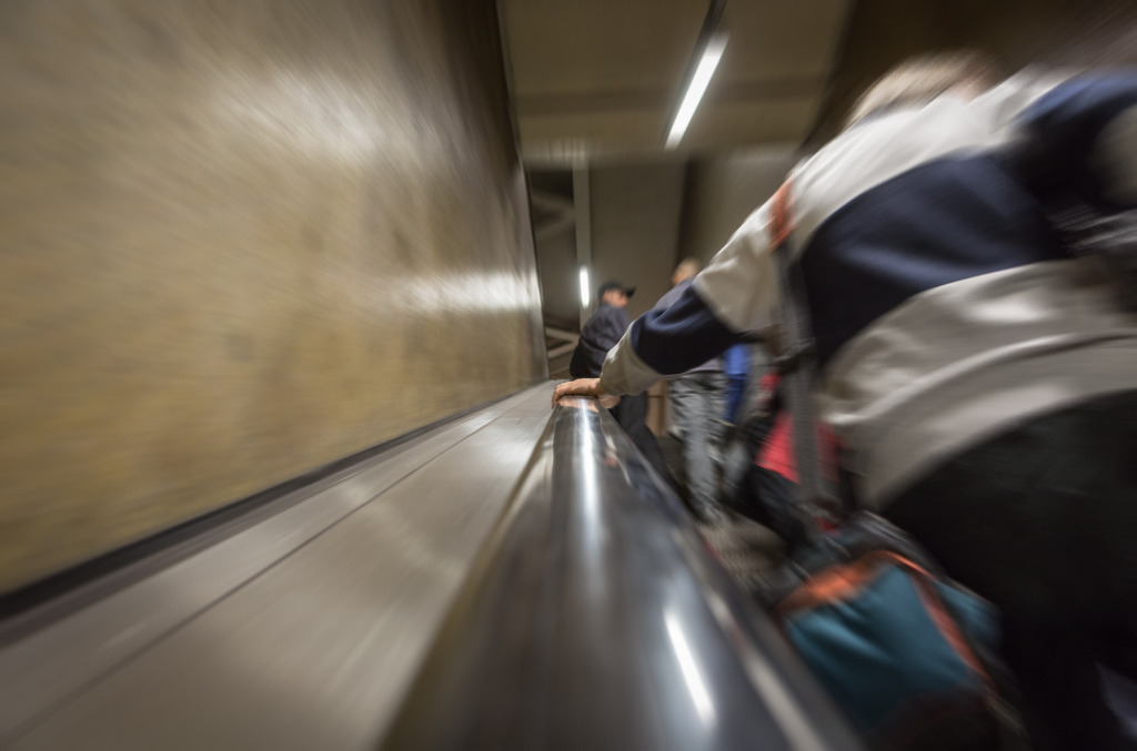 raus aus der Metro!