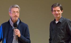 Bernd Mai u. Dr. Rainer Lange (v.l.n.r)