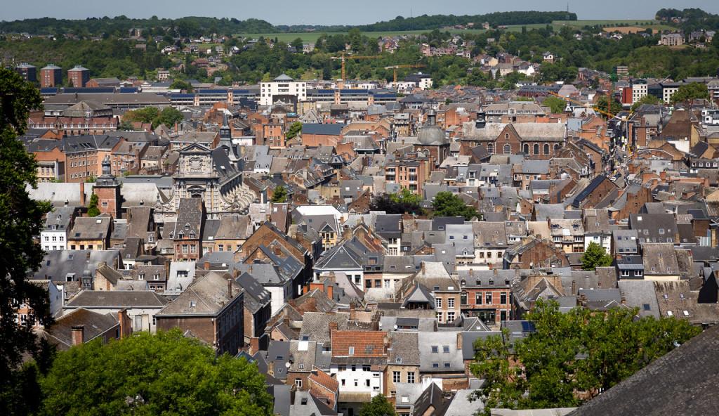 Ausblick auf Namur Zentrum